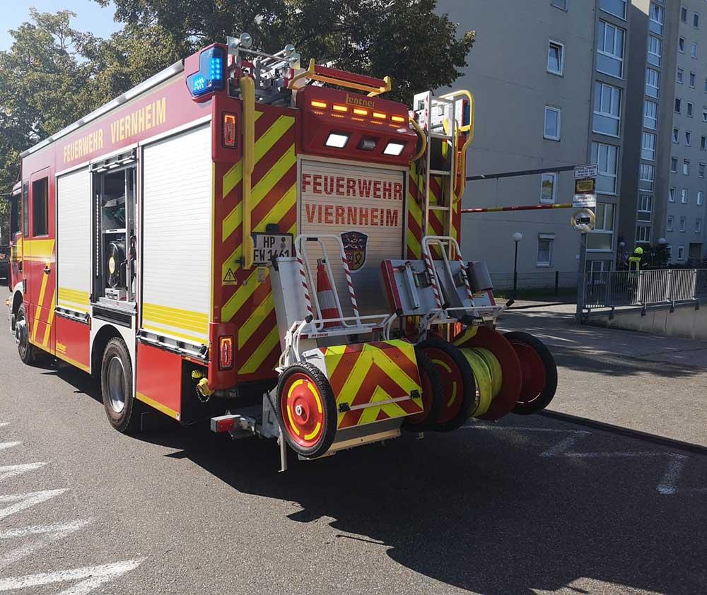 Viernheim Feuerwehreinsatz