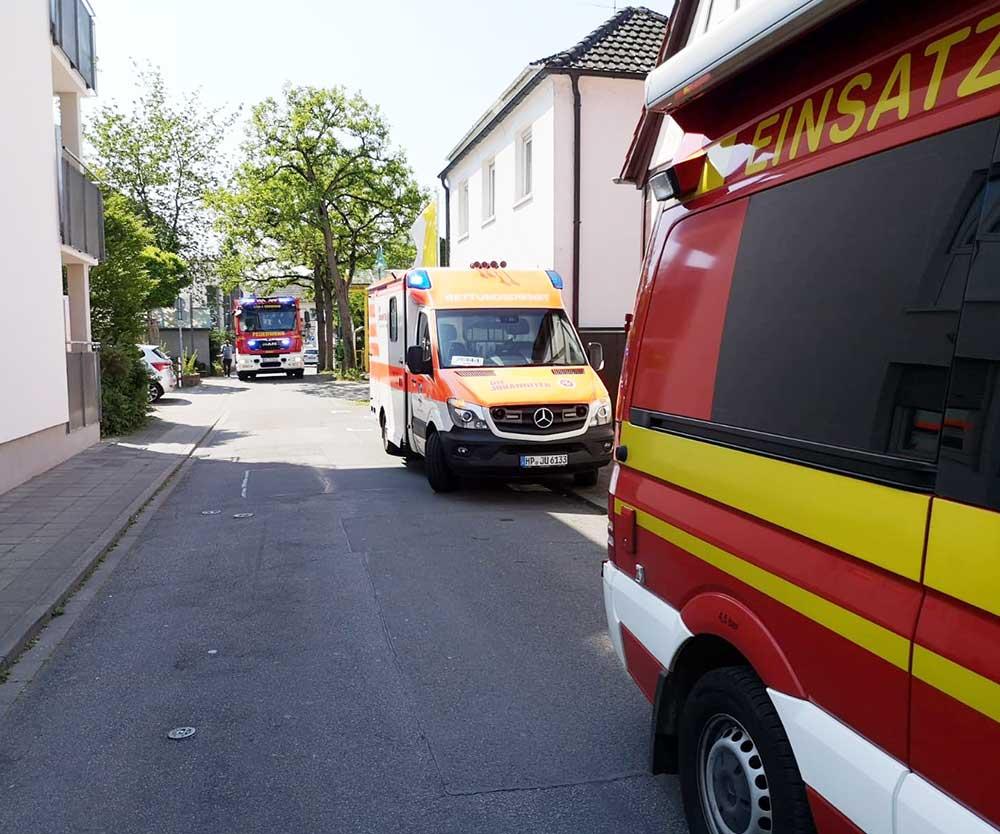 Feuerwehreinsatz Weinheim Heute