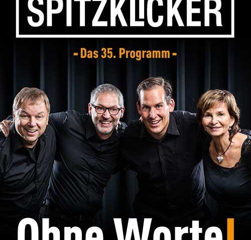 Die Spitzklicker kommen am 31. März in die TSV Halle