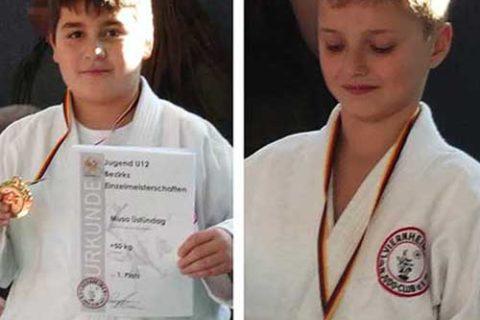 Judo: Erfolgreiche Viernheimer Kämpfer bei den Bezirkseinzelmeisterschaften der U12 m/w