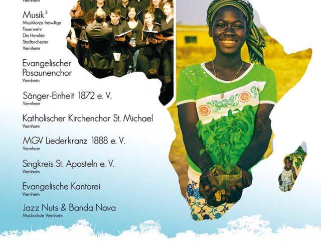 """Großes Benefizkonzert der Viernheimer Chöre und Musikgruppen für Afrika am 17. März – """"Ein Lied – ein Baum"""""""