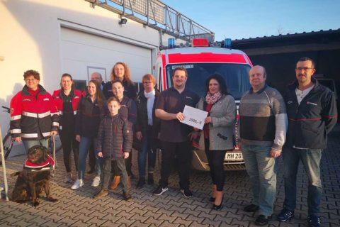 Bürgerstiftung Viernheim spendet 1.000,- Euro für die Malteser Jugend