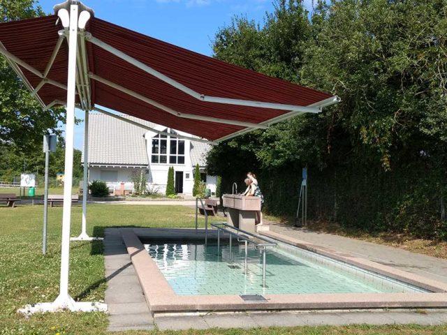 Familiensportpark West / Kneipp-Anlage in der Sommerzeit von 8.00 bis 21.00 Uhr geöffnet