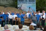 "MGV und Männerchor Dudenhofen – Open Air Konzert – "" Sänger mögen`s scharf"""