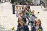 AWO Kindertagesstätte Pirmasenser Straße freuen sich über eine Spende