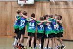Männliche D-Jugendhandballer des TSV Amicitia Viernheim erobern Tabellenspitze