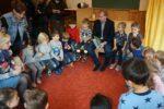 Viernheim: Bürgermeister Matthias Baaß zu Besuch im AWO Familienzentrum Kirschenstraße