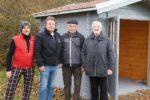 Heddesheimer Golfer bauen Schutzhütte