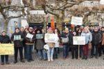 Einhausen: Friedliche Mahnwache macht auf Altersarmut aufmerksam