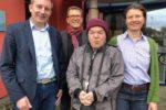 Kreisbeigeordneter Karsten Krug zu Besuch bei der Hephata Diakonie in Viernheim