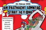 Viernheim: Fastnachtsumzug am 23. Februar 2020