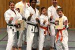 1.Viernheimer Karate-Dojo e.V.: Gürtelprüfung erfolgreich abgelegt