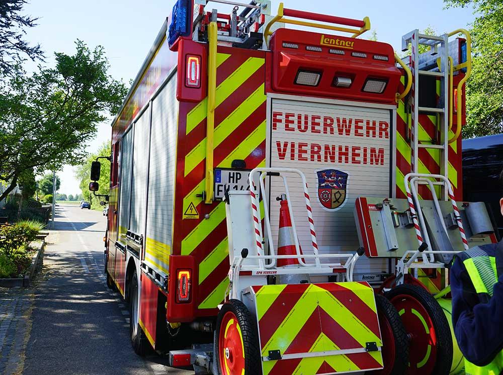 Feuerwehreinsatz Heppenheim Heute