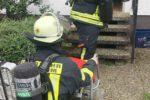 Weinheim: Feuerwehr führt Bewohner aus verrauchtem Einfamilienhaus
