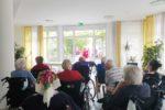 Chor Vielharmonie singt für Bewohner vom Forum der Senioren