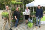 Mannheim: Blumenschmuck-Wettbewerb: Ausgabe der Preise im Luisenpark