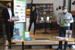 Stadtbibliothek: Sparkassenstiftung Starkenburg spendet 9.500 Euro