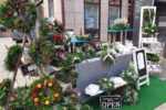 Wochenmarkt am Samstag auf dem Rovigoplatz