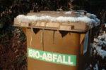 Die Biotonne im Winter