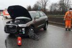 Weinheim A659: Fahrbahn nach Unfall blockiert – Pressemitteilung Nr.1