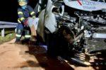 Weinheim: Auffahrunfall auf der A5