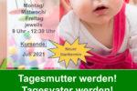 Kindertagespflegepersonen gesucht! – Noch freie Plätze im Qualifizierungskurs zur Kindertagespflegeperson / Kurs startet am 12. Februar 2021