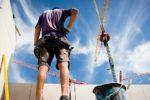 Volle Auftragsbücher: 870 Baugenehmigungen im vergangenen Jahr – Lohn-Plus und Wegezeit-Entschädigung für Bauarbeiter im Kreis Bergstraße gefordert