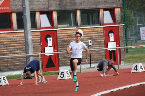 TSV-Leichtathlet Elias Maurer in Top-Form – Zwei Normerfüllungen beim Saison-einstieg