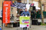 """Tag der Arbeit: Plädoyer """"Solidarität ist Zukunft"""" als Weg aus der Krise – Mehrere Redebeiträge bei Kundgebung des DGB Bergstraße mit rund 80 Teilnehmern"""