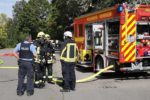 Viernheim: Brand in Möbelhaus – Feuerwehr und Polizei im Einsatz