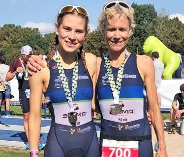 Frauenpower in Heilbronn – Drei Siege für Viernheim beim hep-Triathlon