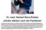 """Vortrag von Dr. med.Herbert Renz-Polster """"Kinder stärken nach  der Pandemie"""""""