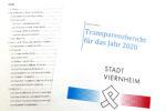 Stadtverwaltung legt Transparenzbericht vor   –  Informationen über Arbeit der Stadtverwaltung und Beschlüsse der Kommunalpolitik im Jahr 2020